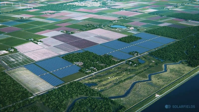 zonnepark Dorhout Mees