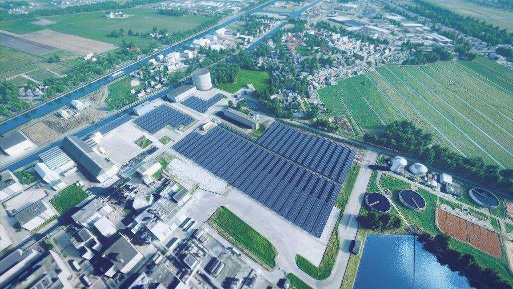 Zonnepark WA Scholten