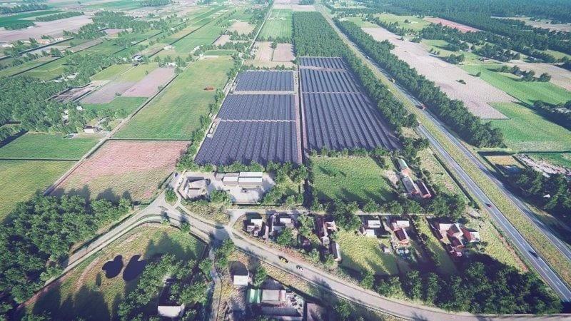 zonnepark Noordscheschut