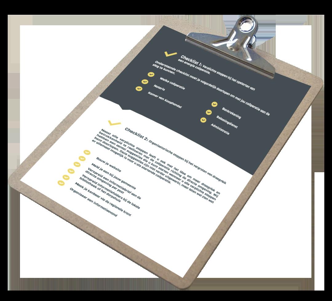 Checklist coöperaties